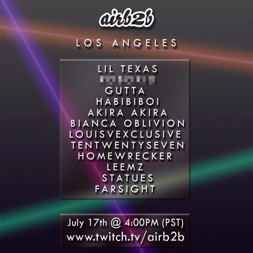 AirB2B LA - DJ Homewrecker Live Set